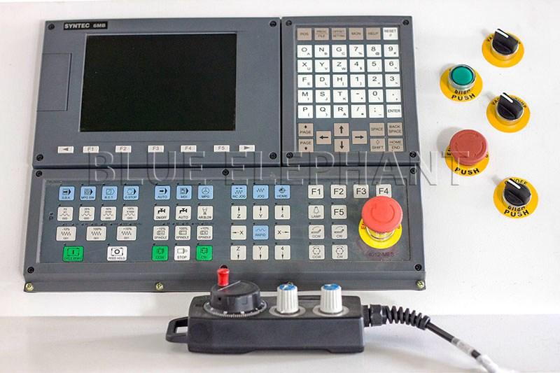 syntec controller of 1337 cnc oscillating knife cutting machine