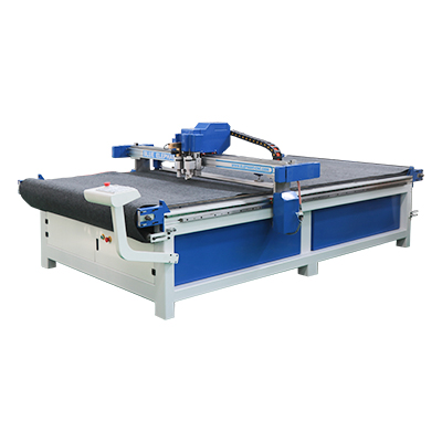 01 leather cutting machine with cnc oscillating knife