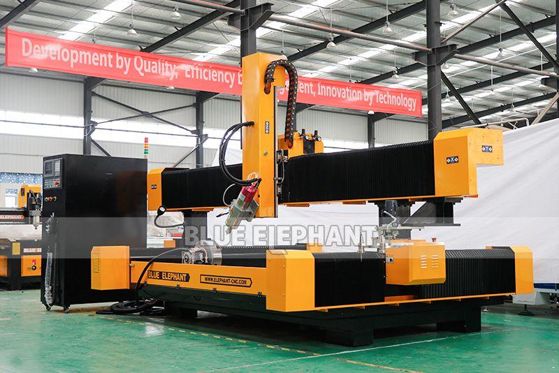 2113 ATC 3D CNC Steinskulptur Maschine mit Drehvorrichtung (1)