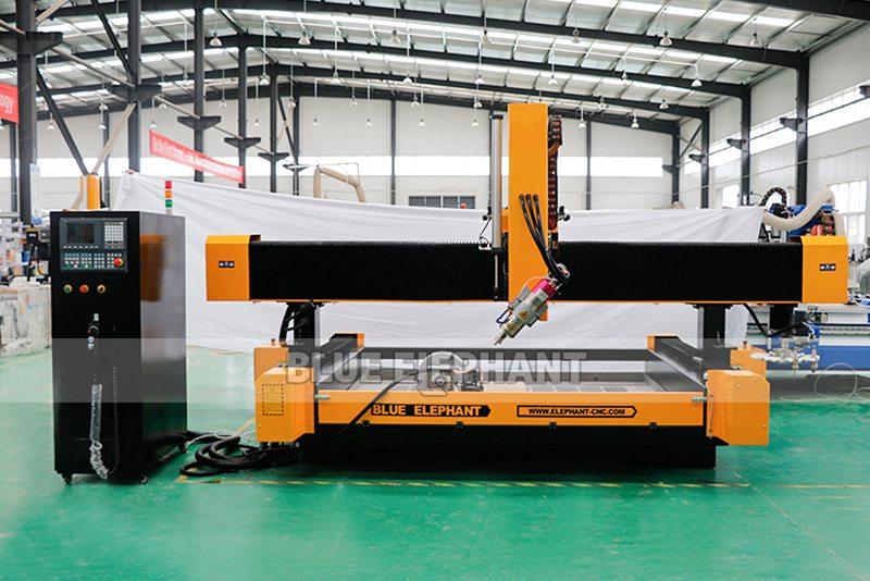 2113 ATC 3D CNC Máquina de Escultura de Piedra con Dispositivo Giratorio (2)