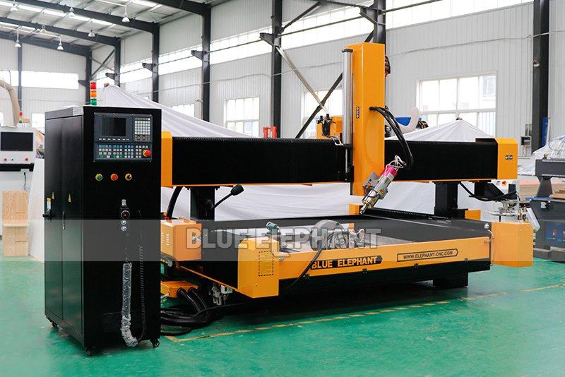 2113 ATC 3D CNC Máquina de Escultura de Piedra con Dispositivo Giratorio (3)