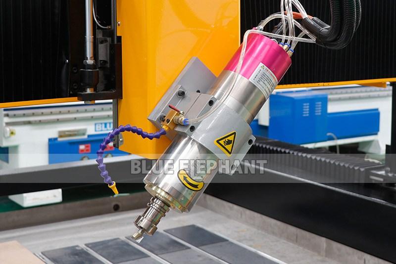 2113 ATC 3D CNC Máquina de Escultura de Piedra con Dispositivo Giratorio (8)
