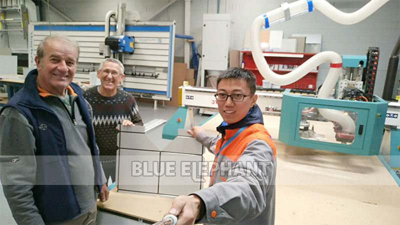 5 after-sales service voor 2040 atc cnc routermachine in australië