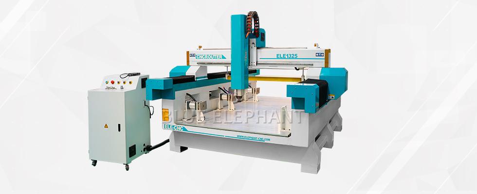 ELECNC-1325 3D Foam Toys Graviermaschine mit Presswalze
