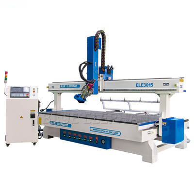 ELECNC-3015 Linear ATC CNC Router with Large Working Size