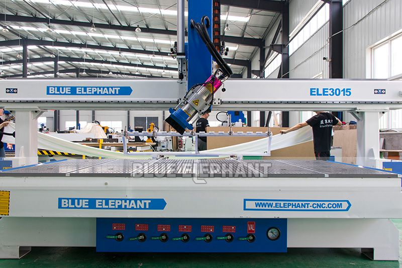 ELECNC-3015 Linear ATC CNC Router with Large Working Size (6)