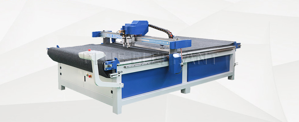 bg for leather cutting machine with cnc oscillating knife