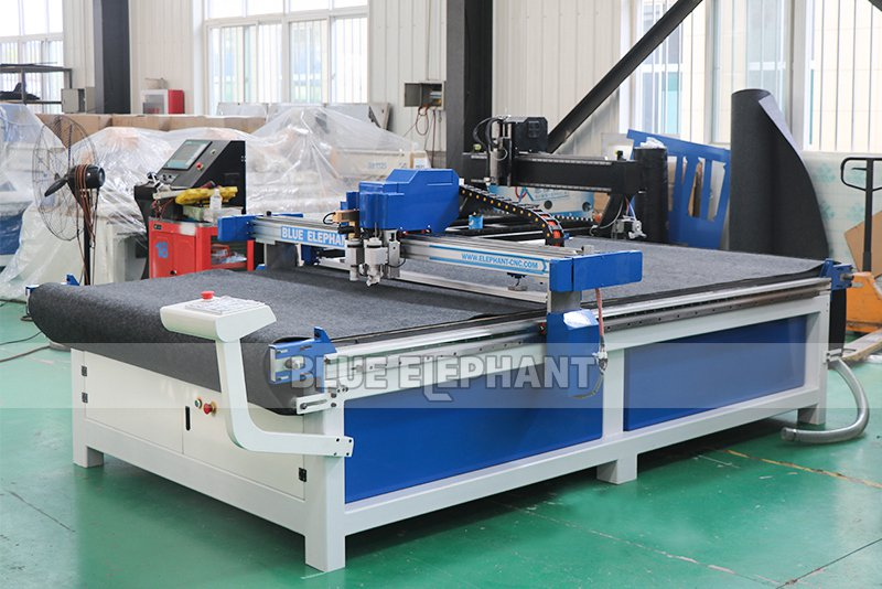 leather cutting machine with cnc oscillating knife 04