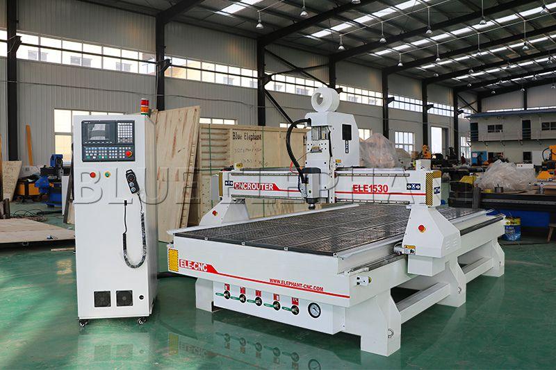 Máquina de enrutamiento de madera CNC ELECNC-1530 3 Axis (4)