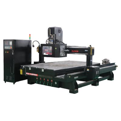 ELECNC-1530 ATC 4 محور آلة التصنيع باستخدام الحاسب الآلي ل 3D الخشب