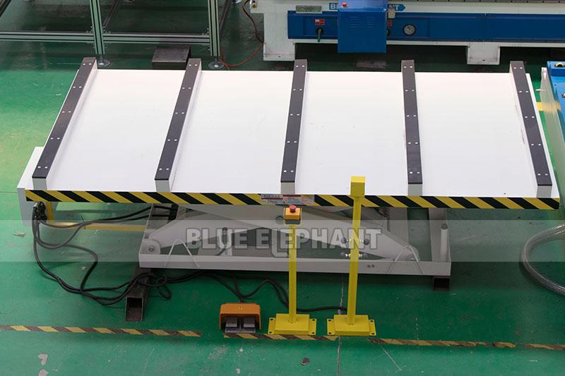 Centros de usinagem CNC Nesting ELECNC-1530 para móveis de madeira (20)