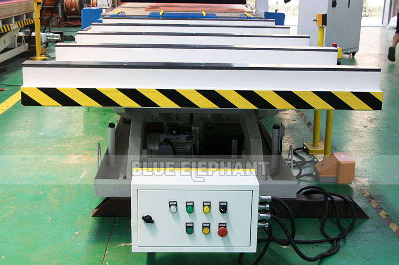 Centros de usinagem CNC Nesting ELECNC-1530 para móveis de madeira (25)