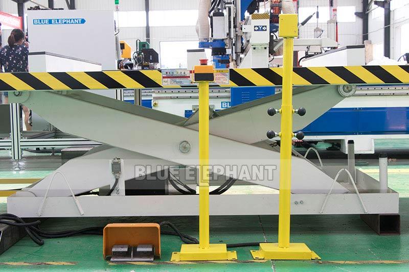 Centros de usinagem CNC Nesting ELECNC-1530 para móveis de madeira (4)