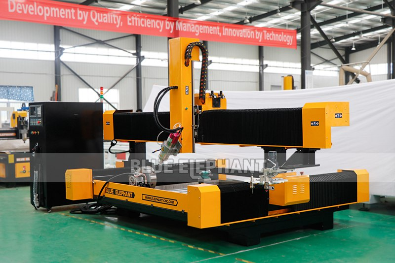 New arrival 2113 ATC 3D CNC Stone Sculpture Machine with Rotary Device (7)