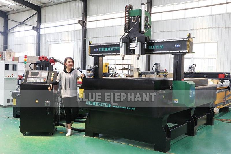 ELECNC-1530 Multi-head CNC Machine for Woodworking (11)