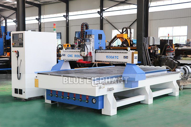 ELECNC-1530 3 Axis ATC Woodworking machine with Linear Tool Changer (7)