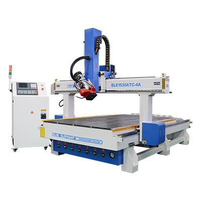 ELECNC-1530 4 Axis ATC Machine à bois pour la gravure de sculpture en bois