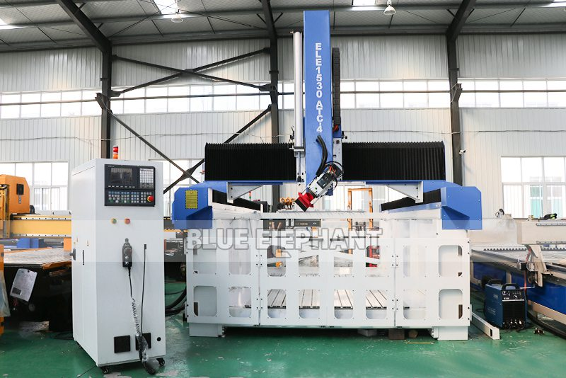 ELECNC-1530 4D Machine de gravure CNC ATC à mousse EPS pour modèles d'avion en bois (11)