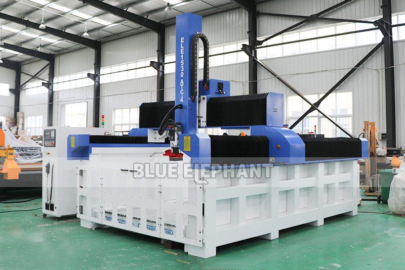 ELECNC-1530 4D Machine de gravure CNC ATC à mousse EPS pour modèles d'avion en bois (12)