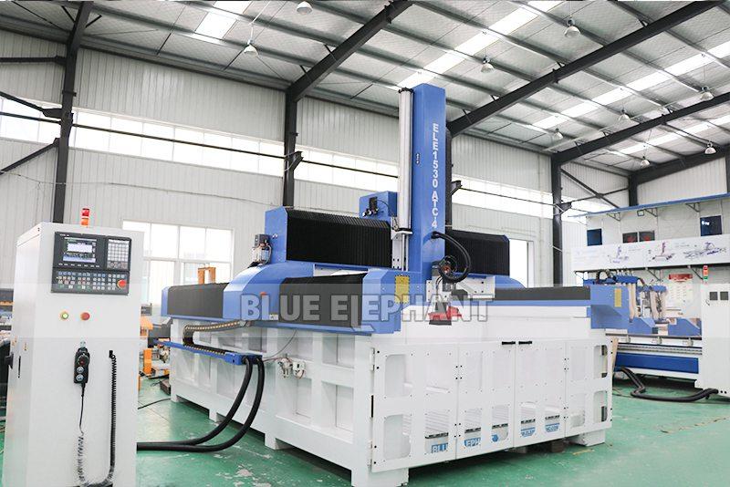 ELECNC-1530 4D Machine de gravure CNC ATC à mousse EPS pour modèles d'avion en bois (14)