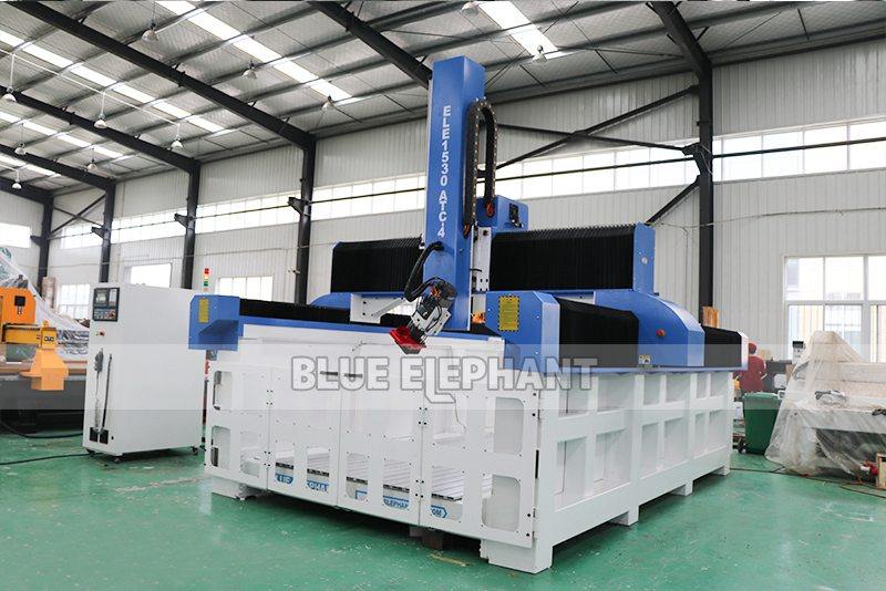 ELECNC-1530 4D Machine de gravure CNC ATC à mousse EPS pour modèles d'avion en bois (15)