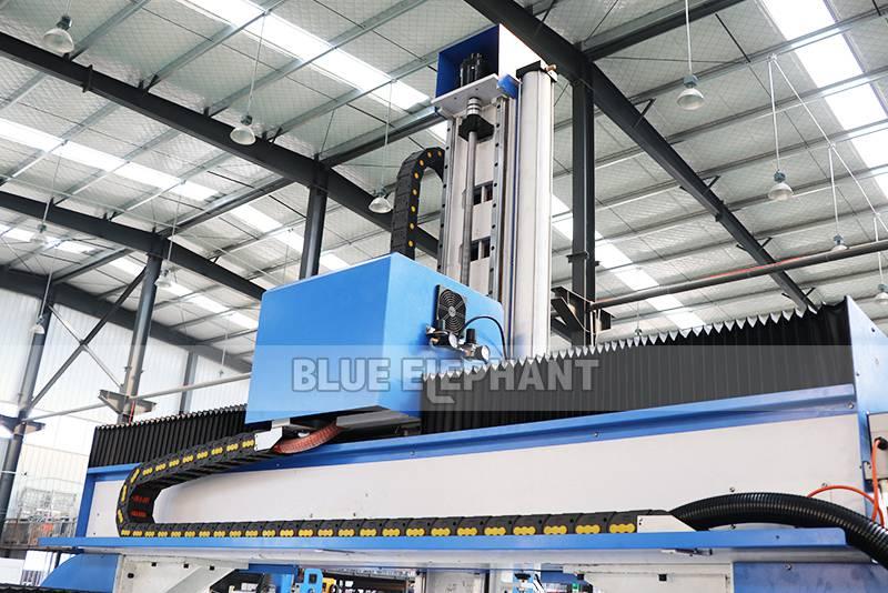 ELECNC-1530 4D Machine de gravure CNC ATC à mousse EPS pour modèles d'avion en bois (3)