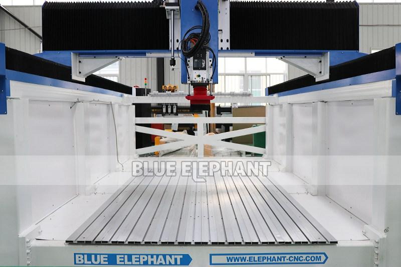 ELECNC-1530 4D Machine de gravure CNC ATC à mousse EPS pour modèles d'avion en bois (7)
