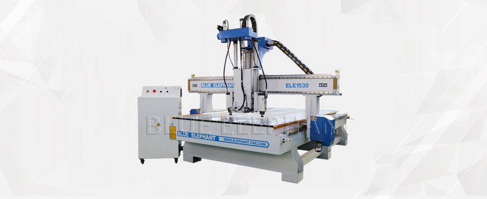 ELECNC-1530 Three Processes Multi Head CNC Router Machines voor houten meubilair (10)
