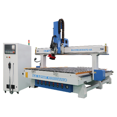 ELECNC-2030 4 Axis Linear ATC CNC Wood Cutting Machine (11)