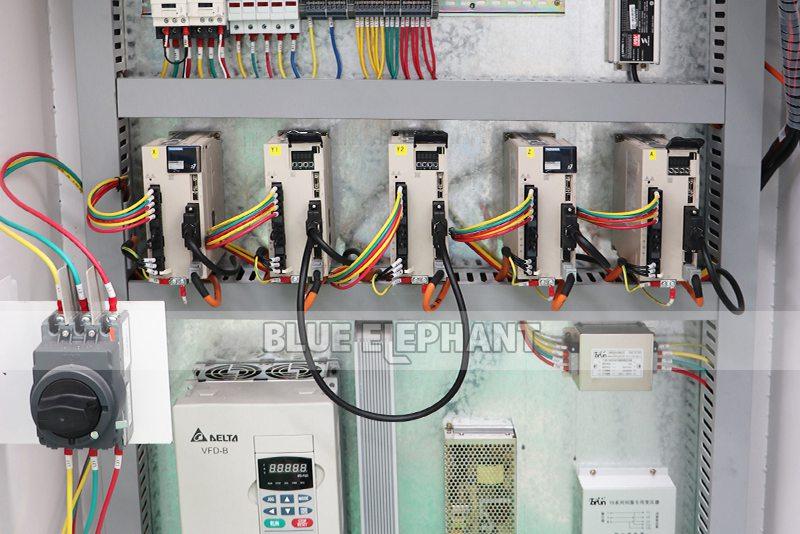 ELECNC-2030 4 Axis Linear ATC CNC Дереворежущий станок (5)