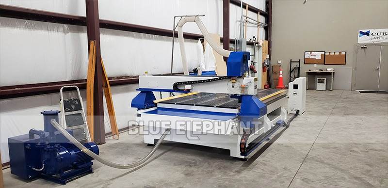 Multifunctional 1530 woodworking engraving machine shipped to the United States (9)