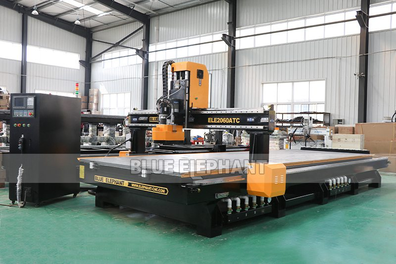 ELECNC-2060 Linear ATC CNC Machine with HSD aggregate head (4)