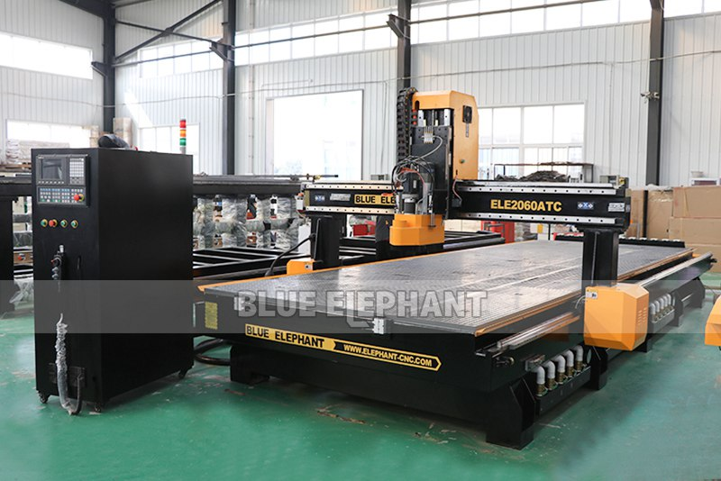 ELECNC-2060 Linear ATC CNC Machine with HSD aggregate head (5)