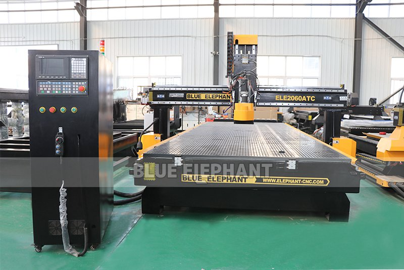 ELECNC-2060 Linear ATC CNC Machine with HSD aggregate head (6)