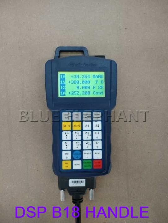 Cómo usar el sensor de herramienta en el sistema de control de manija DSP B18