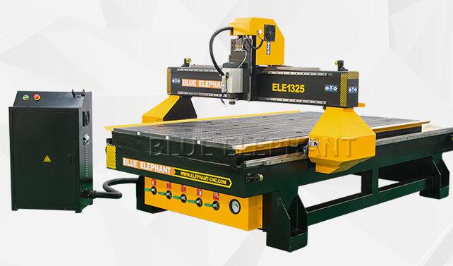 Einstellen der Parameter im Rack-gesteuerten CNC-Fräser für die Holzbearbeitung in DSP A11