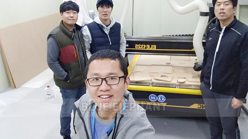 Technical Supports in Korea! 1325 CNC Wood carving Machine and Laser CNC Machinery (2)