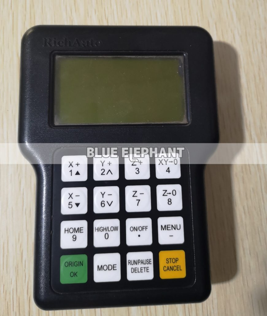 So arbeiten Sie mit dem DSP A11 Handle Control System