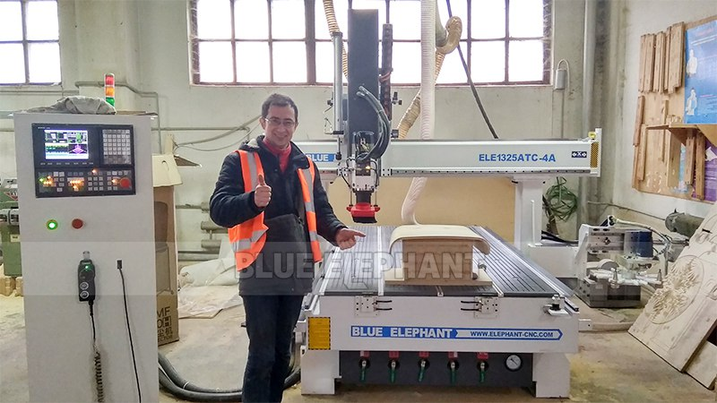 After-Sales Service in Ukraine, 48 ft ATC CNC Machine (5)
