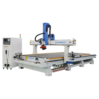 Machine de routeur CNC 2040 ATC avec dispositif rotatif