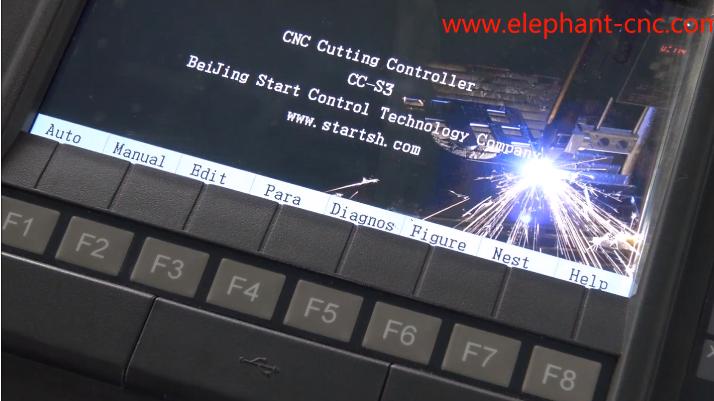 Video de la serie operativa del cortador de plasma