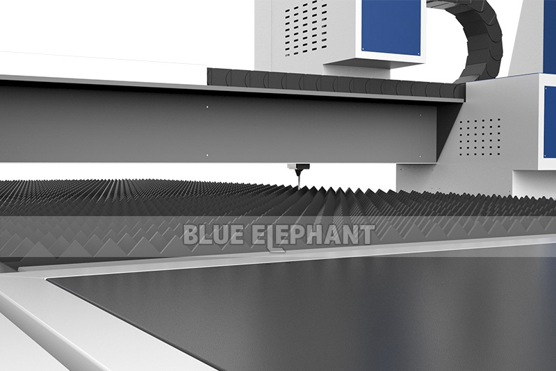Blue Elephant 1530 Fiber Laser Cutting Machine for Stainless Steel (6)