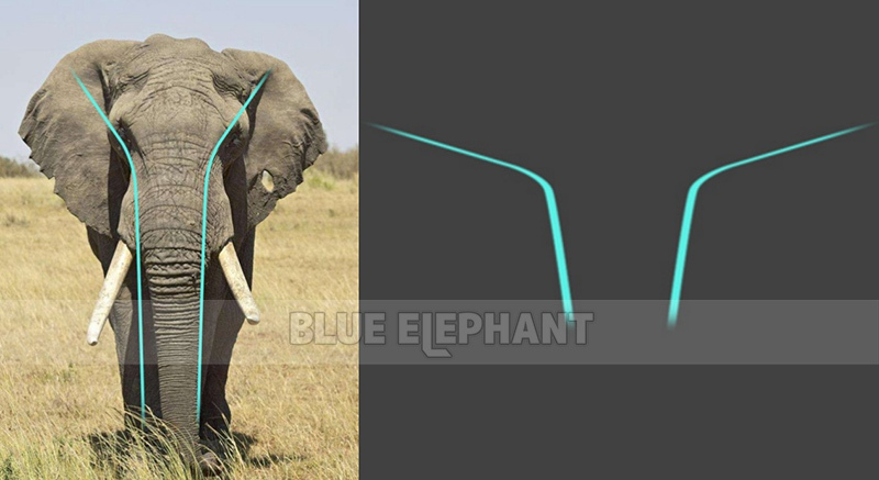The design in front of the machine comes from the fact that the nose is naturally drooping when the elephant is standing forward. It is in line with the image of the blue elephant. The designer cleverly combines the elephant with the company's brand image. This is also our design direction. Seeing the machine immediately think of the blue elephant. This machine is the beginning of our success.