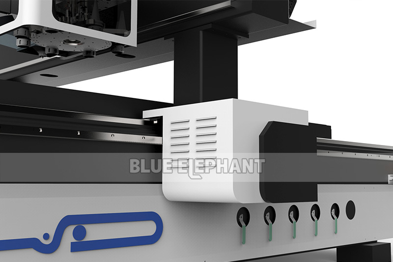 Blueelephant 1325 3D Statues Making Machine CNC Router with Carousel Tool Changer (1)