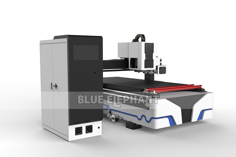 Blueelephant 1325 3D Statues Making Machine CNC Router with Carousel Tool Changer (10)