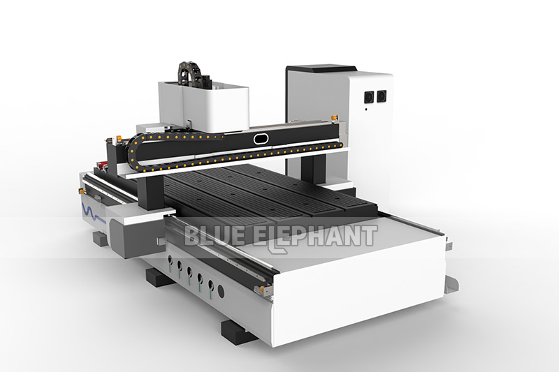 Blueelephant 1325 3D Statues Making Machine CNC Router with Carousel Tool Changer (11)