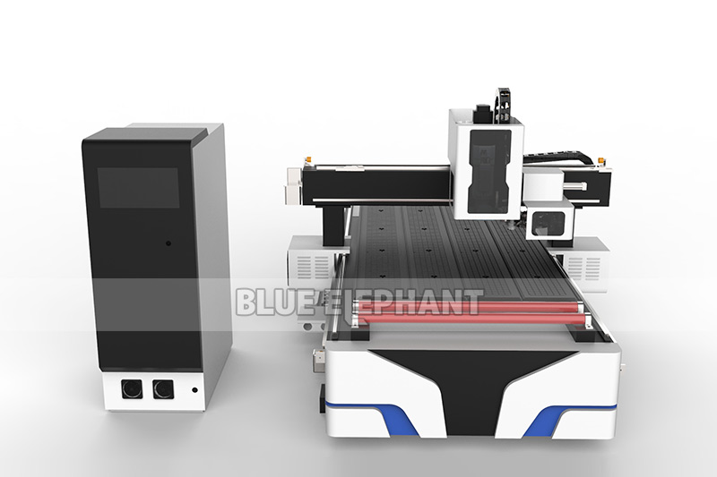 Blueelephant 1325 3D Statues Making Machine CNC Router with Carousel Tool Changer (12)