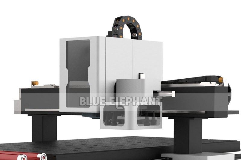 Blueelephant 1325 3D Statues Making Machine CNC Router with Carousel Tool Changer (3)
