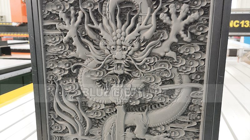 Chinese Dragon Carved by Our Own CNC Router (2)