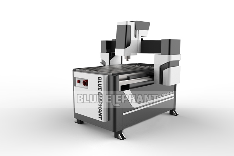 New Type 6090 CNC Router Wooden Furniture 3D Statues Making Machine (6)